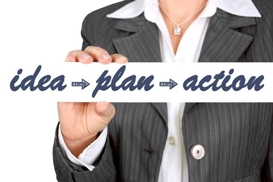steps for effective goal setting - idea plan action - idea plan action